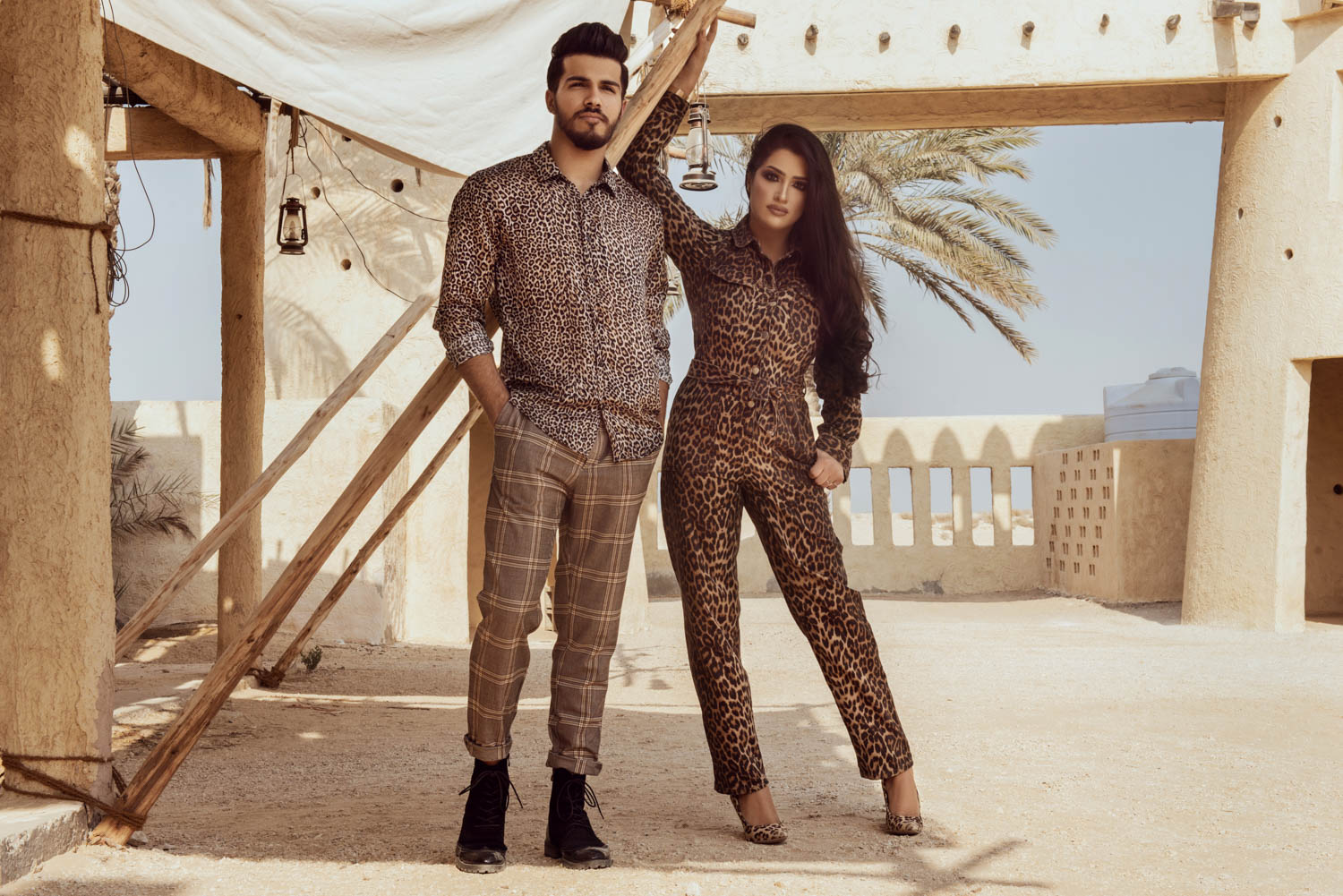 Qatar fashion campaign